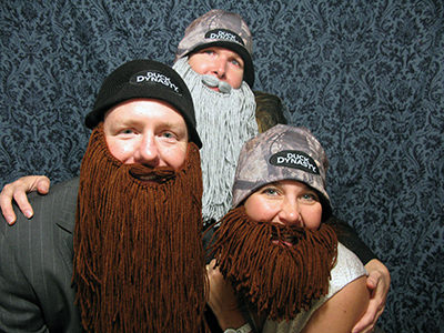 duck dynasty photo booth