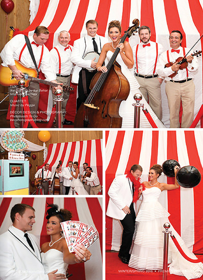 photo booth circus tent