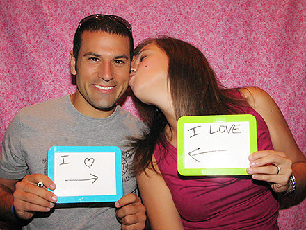 photo booth for lovers